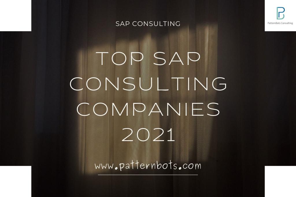 SAP consulting companies- SAP implementation-patternbots